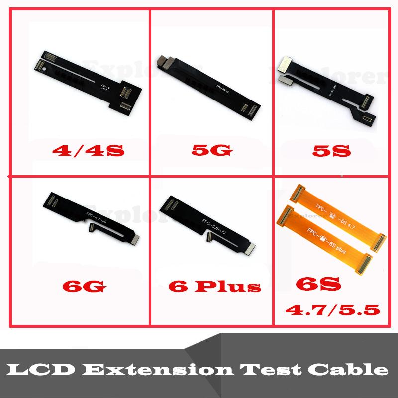 LCD touch screen Digitizer Extension Tester Test Flex Cable for iPhone 4 4S 5 5C 5S 6G 6 plus 6S 6S Plus