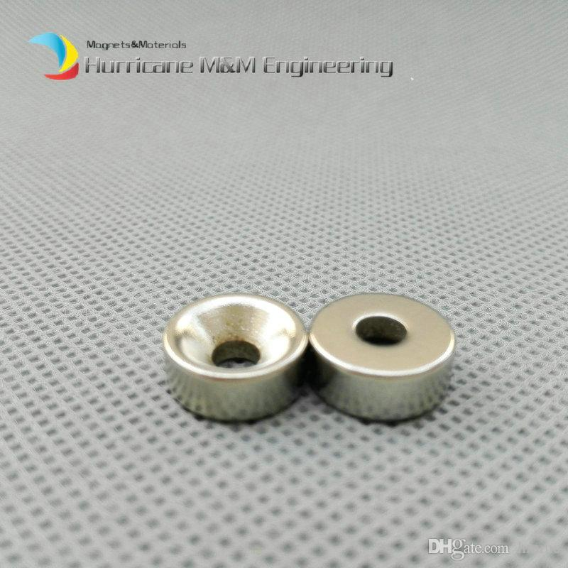 Countersunk Hole Magnet Diameter 12x5 +/-o.1mm Thick M4 Screw Countersunk Hole Neodymium Rare Earth Permanent Magnet
