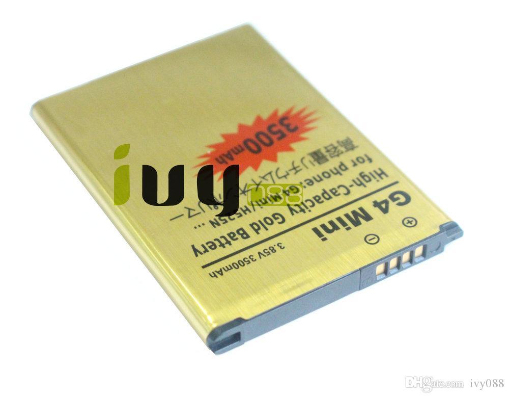 50 pz / lotto BL-49SF BL49SF BL 49SF 3500mAh batteria di ricambio in oro LG G4 Mini G4C G4S H735T H525N G4Mini G4beat G4 Batterie Beat