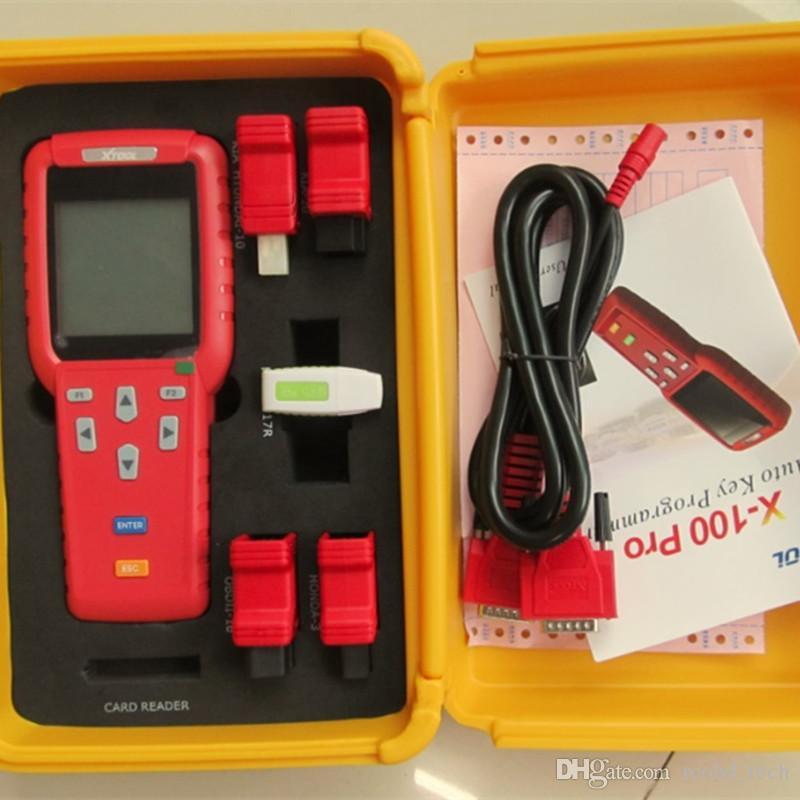 Original XTOOL X100 Pro X-100 programmatore chiave cloner auto ECU lettore di codice pin immobilizzatore X 100 multi marca auto