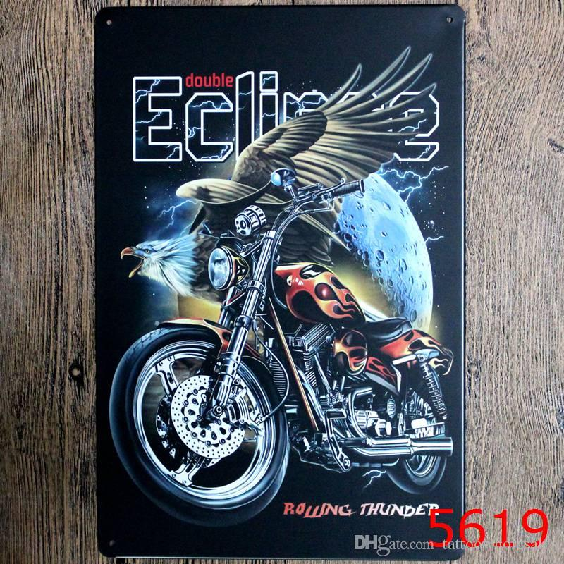 2018 Indian Motorcycle Humble Retro Coffee Shop Bar Restaurant Wall ...