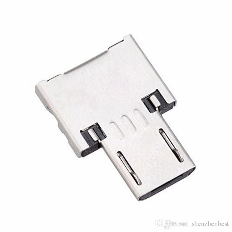 البسيطة USB قرص فلاش يو القرص 5PIN مايكرو USB OTG كابل محول محول Adaptador لXIAOMI HTC سامسونج هواوي الهاتف اللوحي