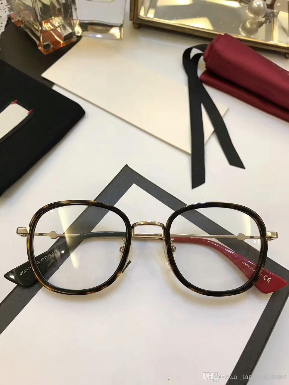 5571c22c24 2019 Brand Designer Prescription Glasses G01110 Men Womens Glasses Frame  Clear Lense Women Brand Designer Eyeglasses Frame From Jiangsunglasses