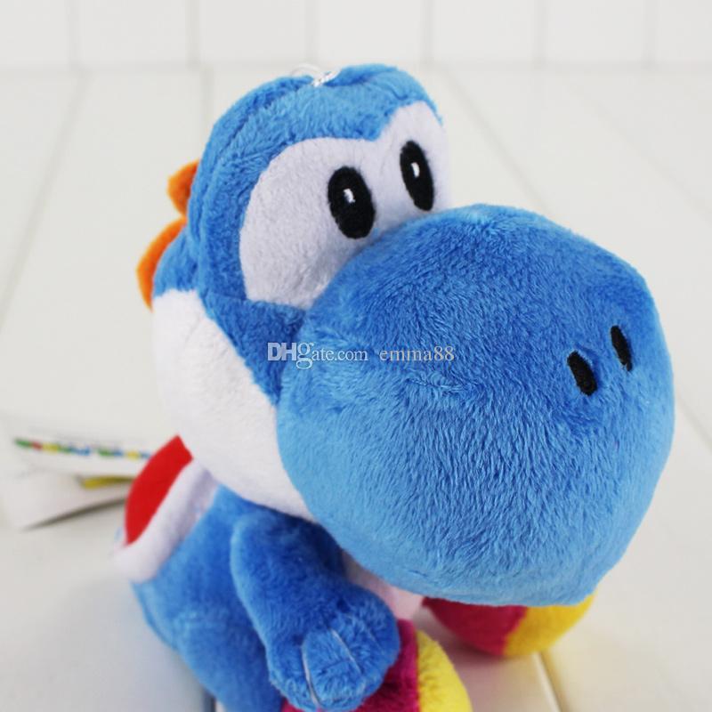 Il giocattolo molle della bambola farcito del giocattolo eccellente della peluche di Mario di stili di Mario di 18cm 3 il regalo del giocattolo dei bambini libera la vendita al dettaglio