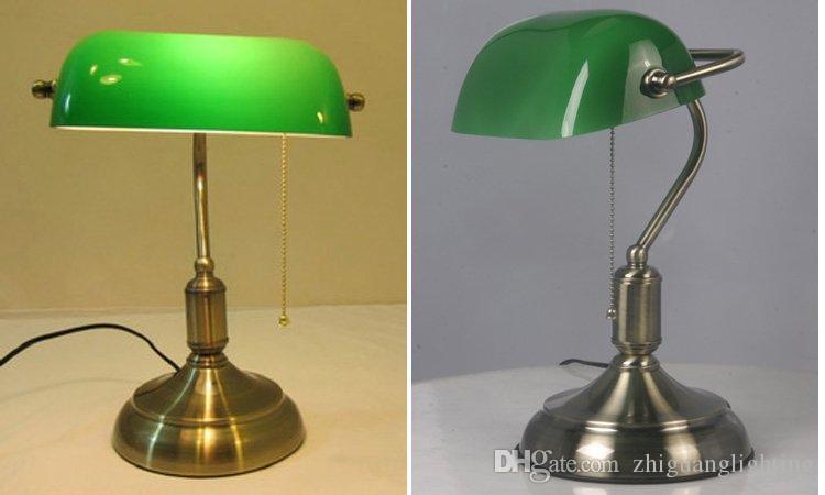 bronze antique lampe de table de chevet table de chevet antique brosse salon lampe de bureau éclairage de bureau éclairage à économie d'énergie