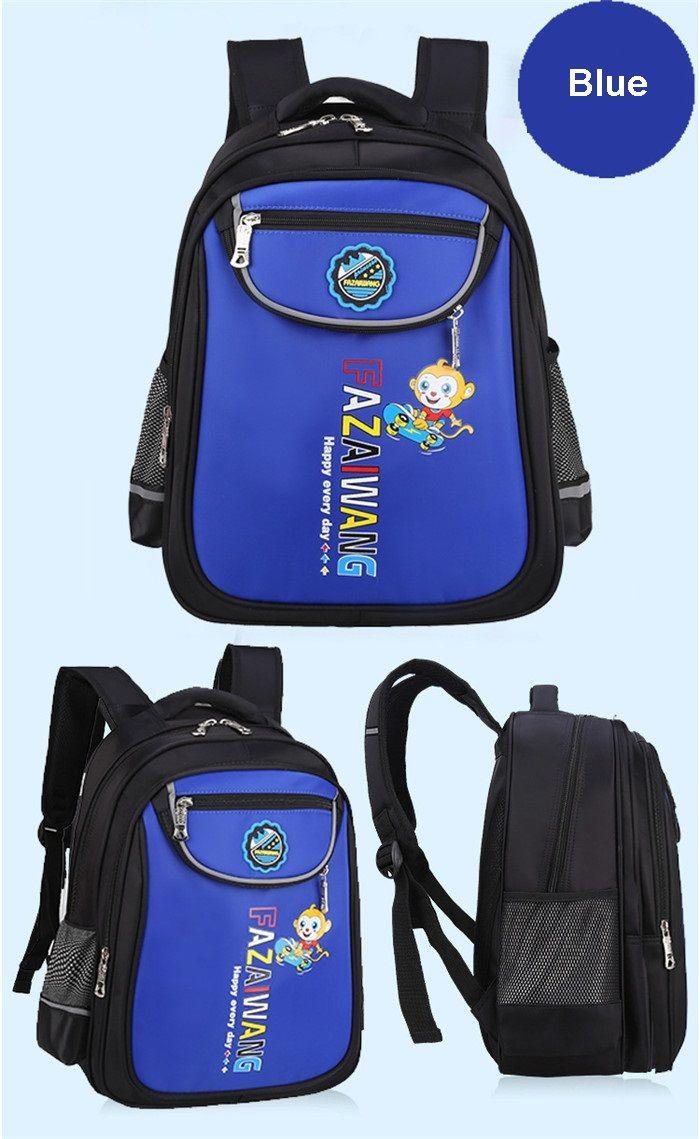 الأطفال على الظهر بنين بنات أطفال على ظهره حقيبة مدرسية حقائب مدرسية حقيبة الكرتون كتاب الحقائب عالية الكثافة نايلون للماء التهوية