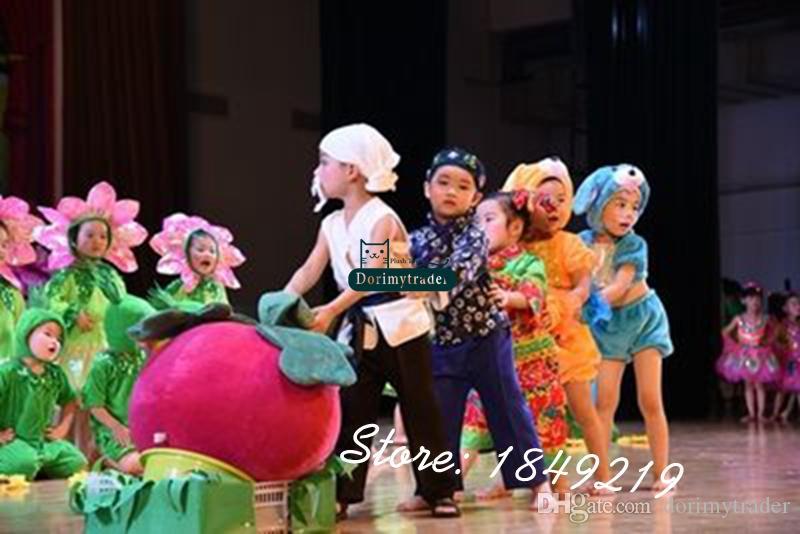 Dorimytrader 30 '' / 75 cm Gigante Peluche Emulational Ravanello Giocattolo Bella Red Vegetables Scuola puntelli teatrali Grande Regalo Spedizione Gratuita DY61110
