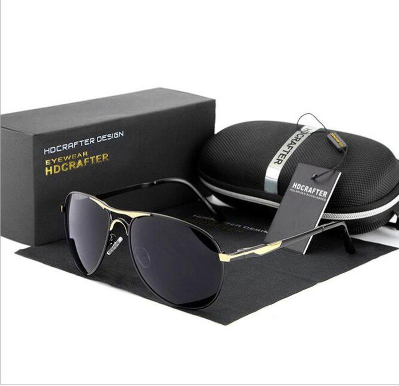 737e5f00d5d8 Großhandel Sonnenbrille Männer Polarisierte Herren Sonnenbrille Marke  Designer Top Qualitly Fahren Angeln Sonnenbrille Shades Mit Original Box  Von Xmtf