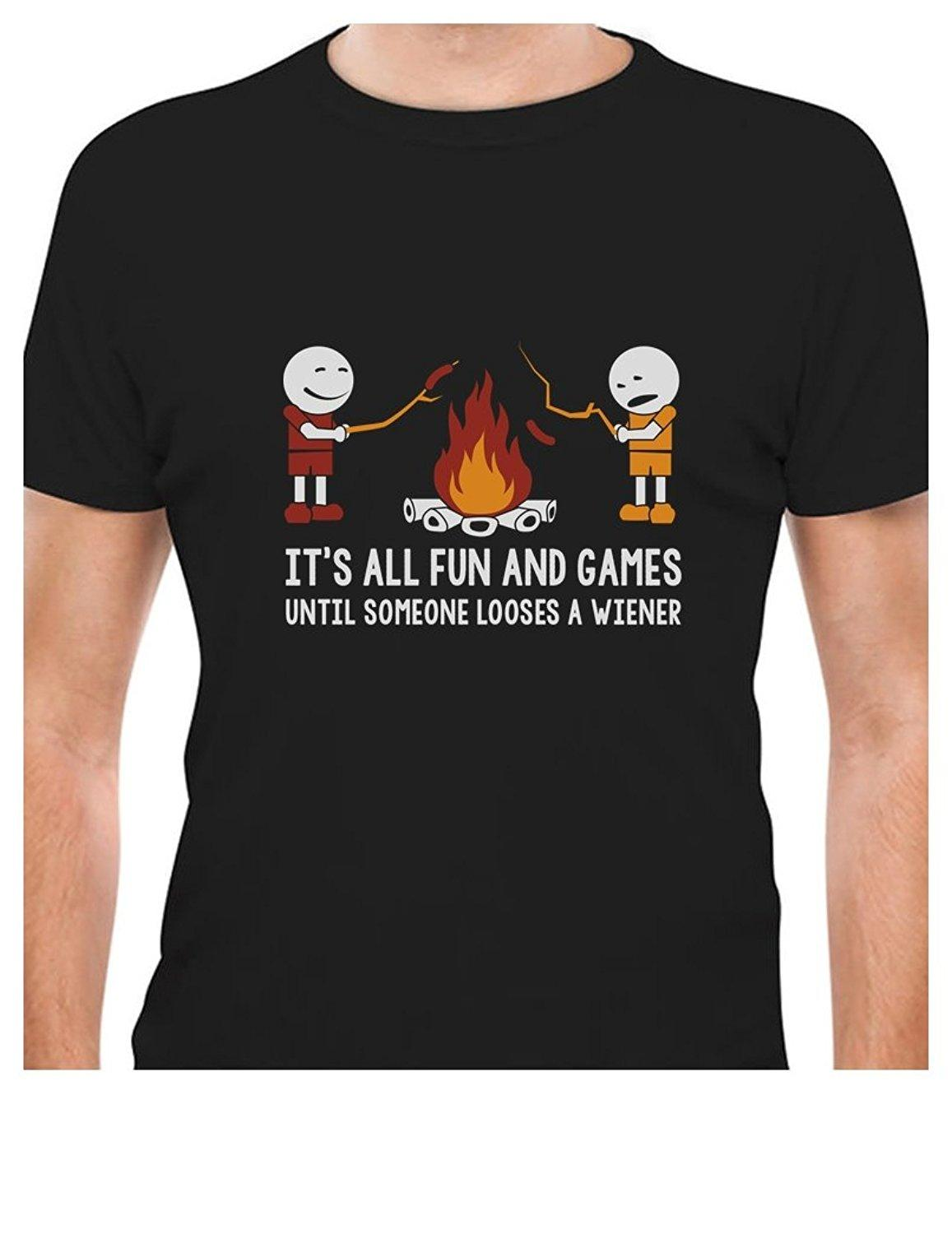 98f983b3 Printed Tee Shirt Design It'S All Fun And Games Until Someone Looses A  Weiner T Shirt Circle T Shirt Designers Buy Shirts T Shirt Designers From  Bstdhgate04 ...