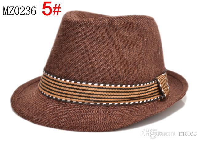 2016 New Fashion Kids Boys Girls Unisex Fedora Hats Cap for Children Contrast Trim Cool Jazz Chapeu Feminino Trilby Sombreros