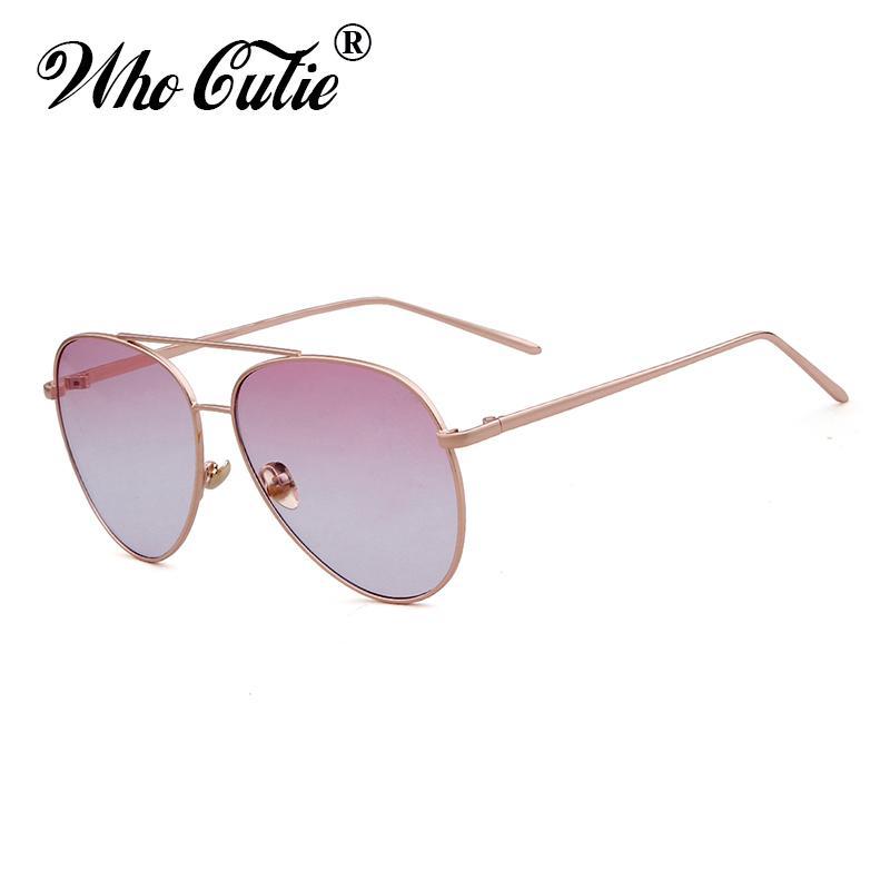942306f92c WHO CUTIE 2018 Womens Sunglasses Metal Retro Vintage Fashion Cool ...