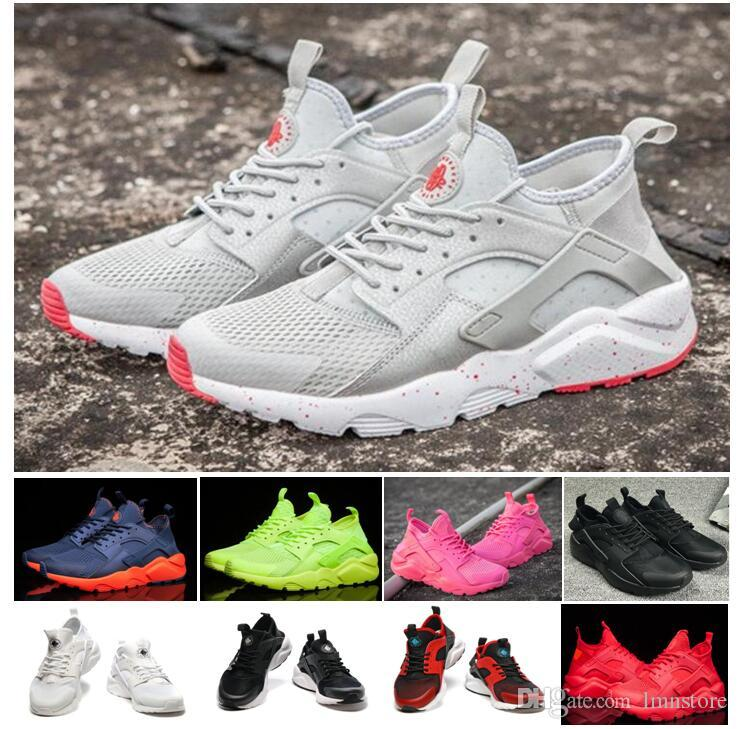 2016 Air Huarache Iv Running Shoes For Men & Women, Black White High  Quality Sneakers Triple Huaraches Jogging Sports Shoes Men Shoes Online Best  Running ...