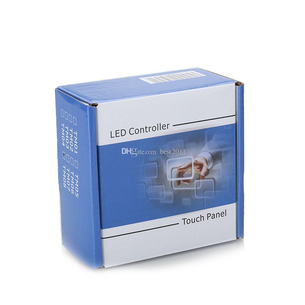 DIY Home Lighting Single Color LED Touch Panel Controller Led Dimmer Switch for DC12V 5050 5630 3528 LED Strip Lights