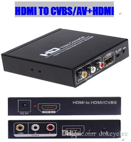 מדהים HDMI To RCA /AV/CVBS And HDMI Converter Two Distributor With AV YC-17