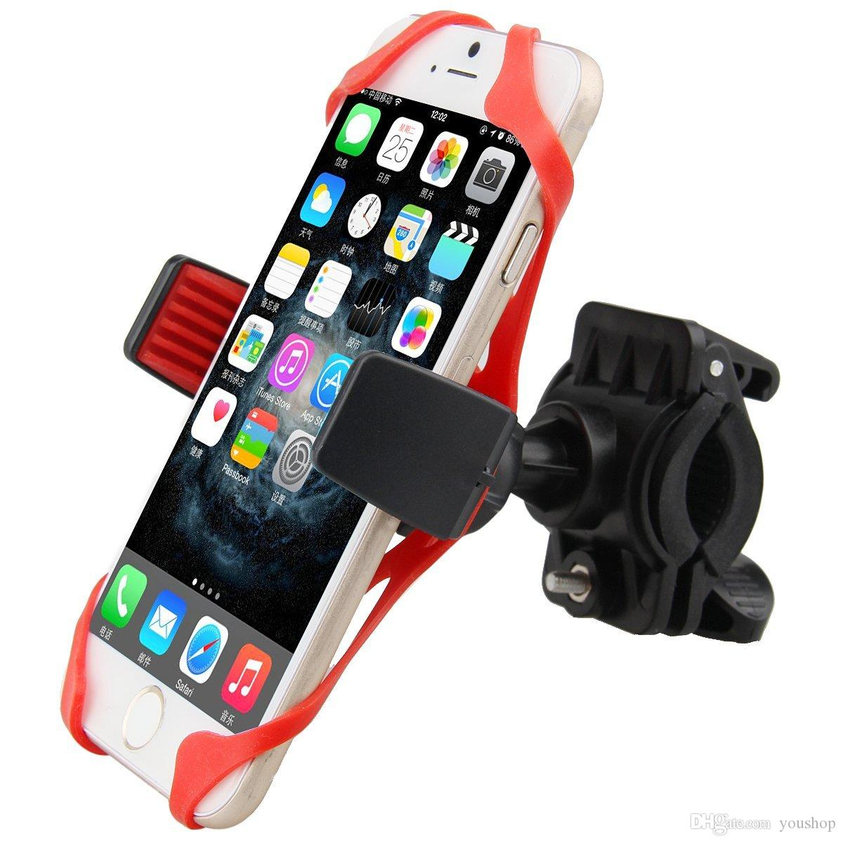 quality design df4f2 36d58 Bike Mount Bicycle Holder Universal Smartphone Bike Mount Holder with 360  Degree Rotate for iphone 6s / 6 / 5S /5C for Samsung