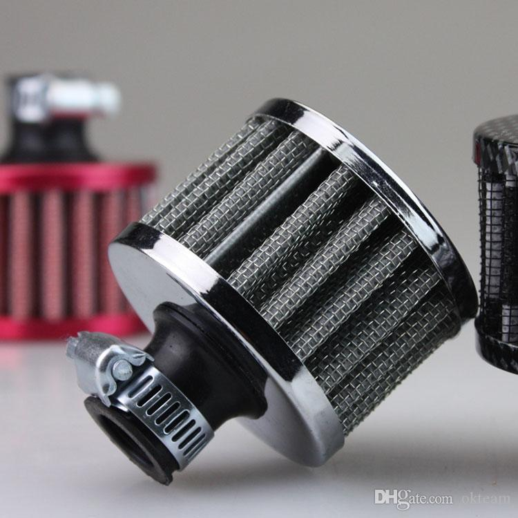 Blue Universal 13mm Car Secondary Air Intake Filter High Flow air cleaner Engine Can be cleaned dust Washable
