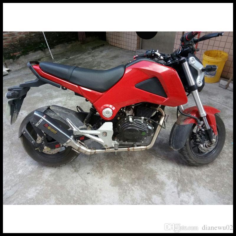 51 mm Universal Motorrad Auspuffrohr 460 mm Länge Schalldämpfer Für Akrapovic Yoshimura Auspuff Racing 600CC Motorrad