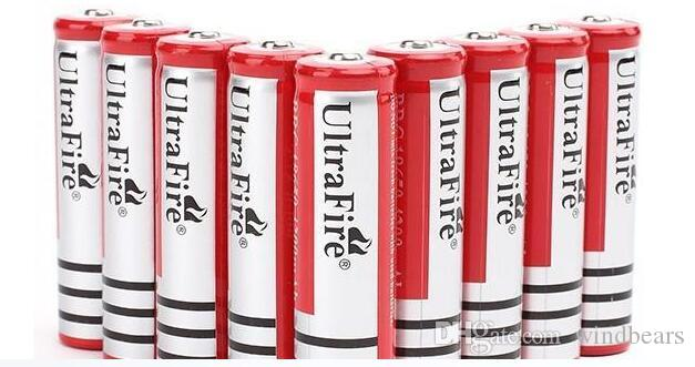 New Version 18650 5000mah Rechargeable Lithium Li-ion Battery for LED Camera Laser Flashlight speaker