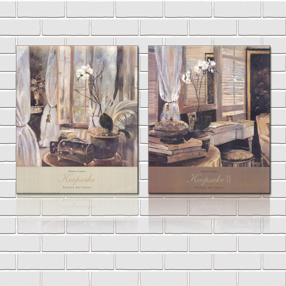 Unframed art picture Canvas Prints Poplar tree branch bird Oil Painting dog black cat parrot monkey coconut tree