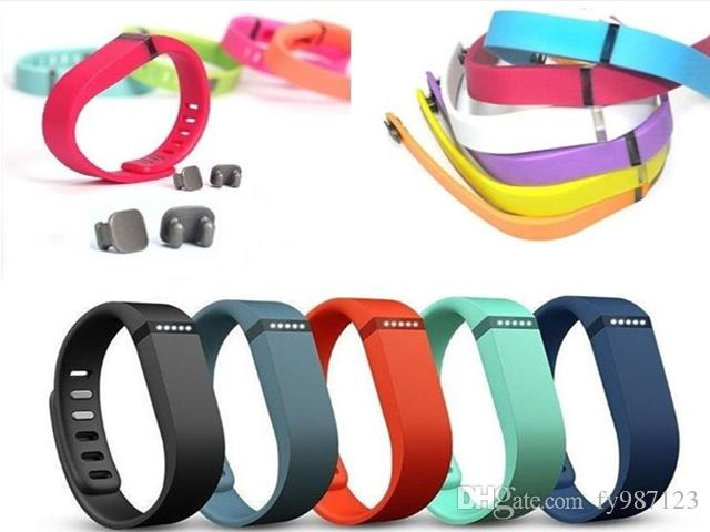 Hot selling new Fitbit Flex Band With Clasp Replacement TPU Wrist Strap Wireless Activity Bracelet Wristband With Metal Clasp No Tracker