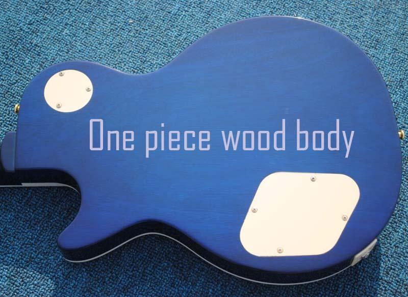 Una pieza de cuerpo de caoba / tilo, debe pedirlo junto con la guitarra