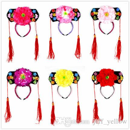 Qing Princess Cap Princess Hair Accessories Chinese Costume Hat ... fb9bb2d9dbad