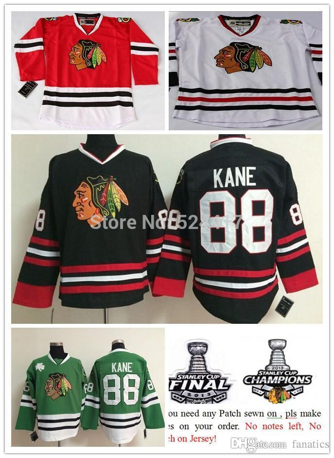 Chicago Blackhawks Hockey Jersey Patrick Kane Jersey 88 Stitched Ice Hockey  Jerseys China From Fanatics d49d55499ce