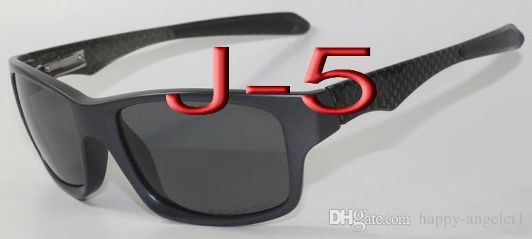 2016 Classics Jüpiter Karbon Spor Güneş Gözlüğü Polarize Oculos Kadın Erkek siyah plastik çerçeve kırmızı yangın Iridyum ayna flaş 4066
