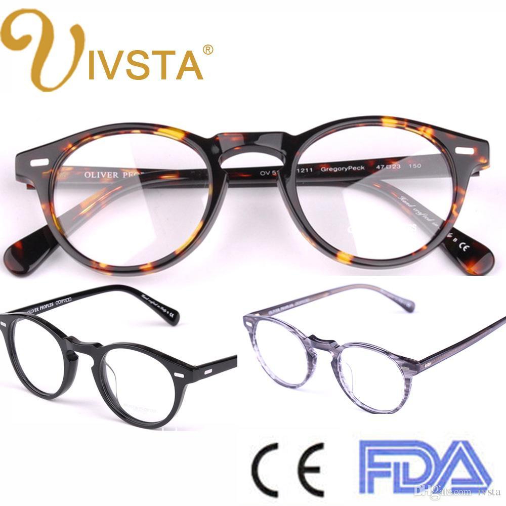 2018 Oliver Peoples Ov5186 Handmade Acetate Frames Glasses Brand Logo  Original Spectacle Glasses Demi People Retro Optical Frame Men Women From  Ivsta, ...