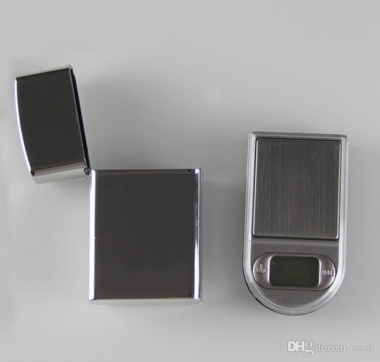 20 stücke 200g x 0,01g Mini Feuerzeug Stil Digitale Waagen für Gold- und Diamantwaage Schmuck 0.01 Balance Gram Elektronische Waagen