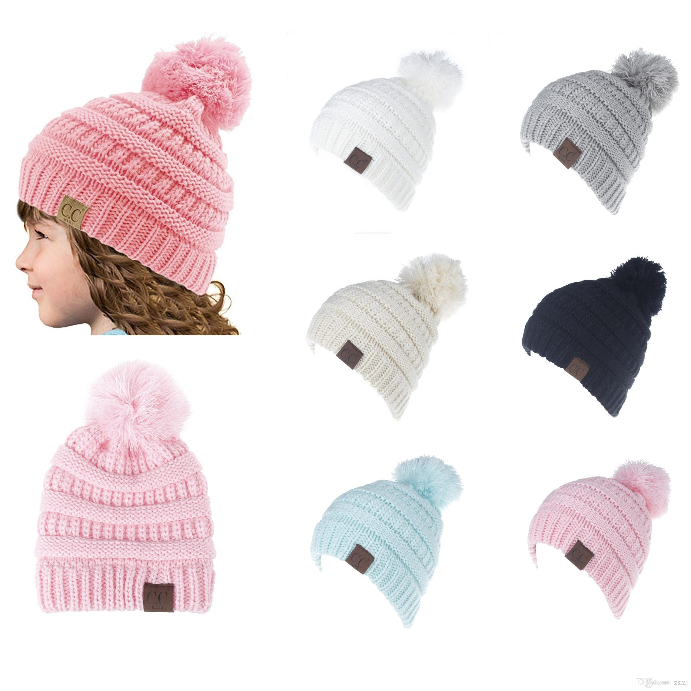 e6832f2d798 Fashion CC Winter Warm Beanie 6 Candy Colors Knitted Chunky Skull ...
