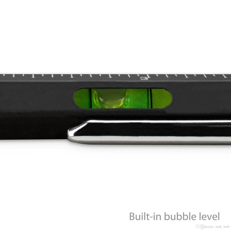 DHL SF_Express Cetvel Stylus ile Çok Fonksiyonlu Kalemler tükenmez Kalem Kalem + hava seviyesi + tornavida + Kapasite kalem fabrika fiyat