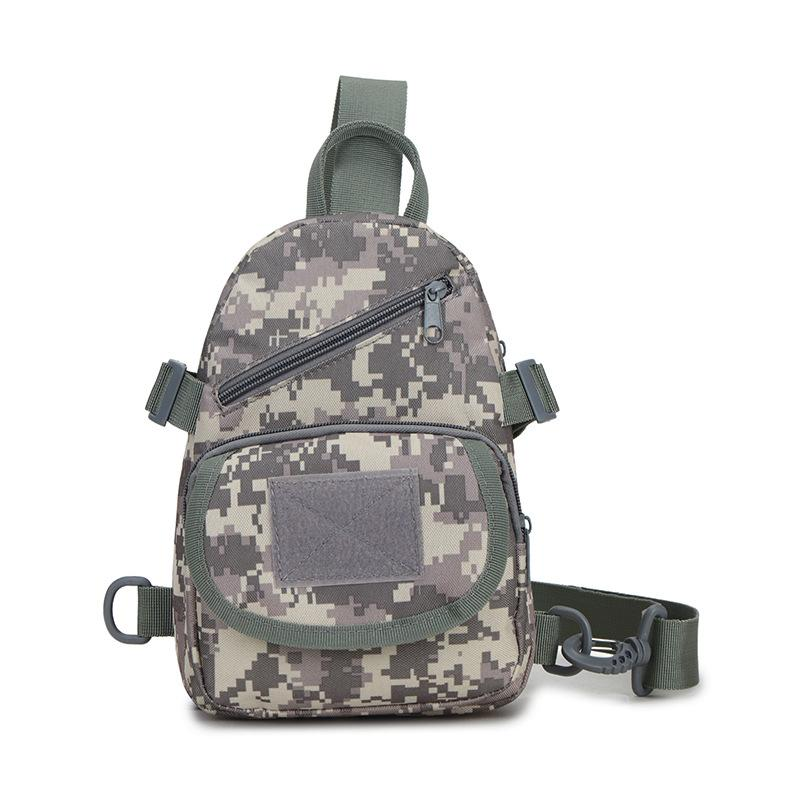 6b1470fb6bcb Outdoor Bag Men s Chest Pack Oxford Cloth Satchel Bag Shoulder Bag ...