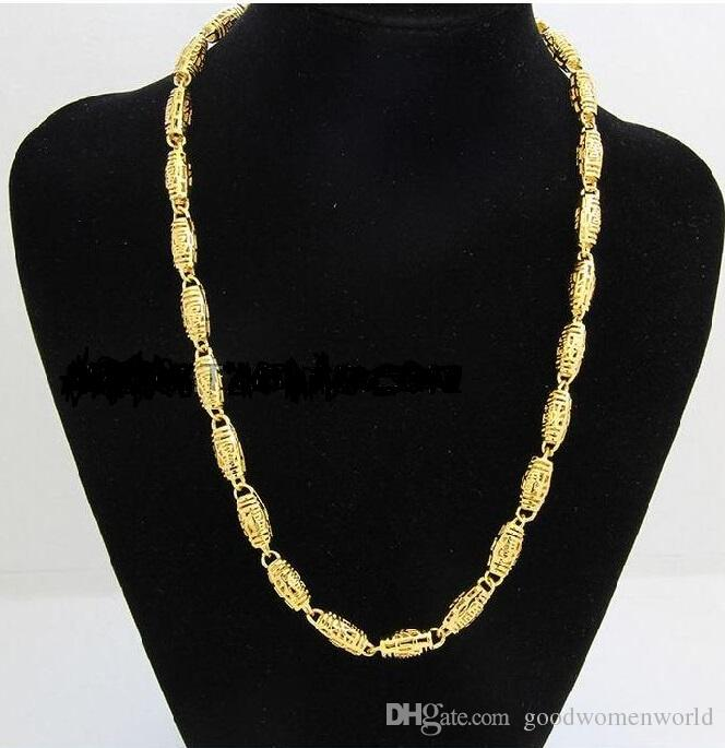 2020 Best Buy Fine Yellow Gold Jewelry Heavy Mens 24k Yellow Solid Gold Gf Chain Necklace Wide 7mm Length 50cm Weight 36 5g From Goodwomenworld 11 1 Dhgate Com