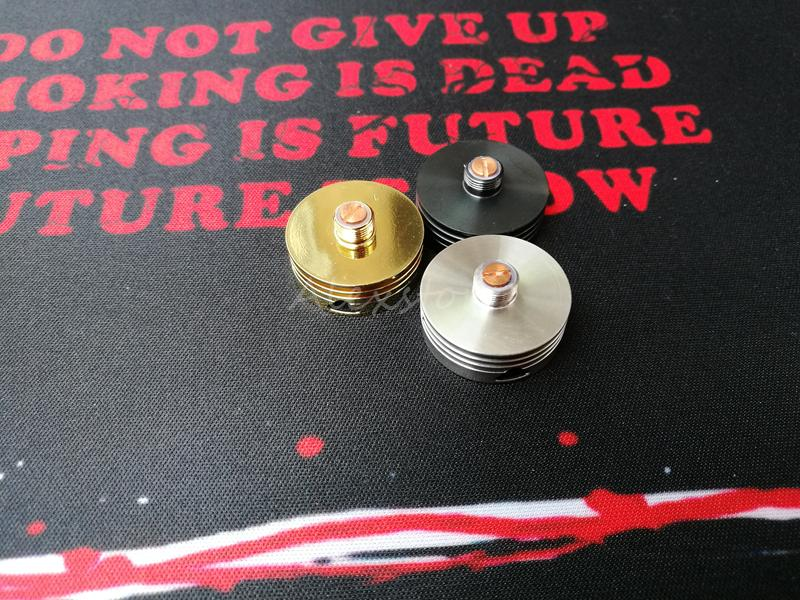 Heatsink v2.0 update Heat Insulator Sink heat dissipation decorative protector beauty ring 510 adapter connector for vape rda ecig