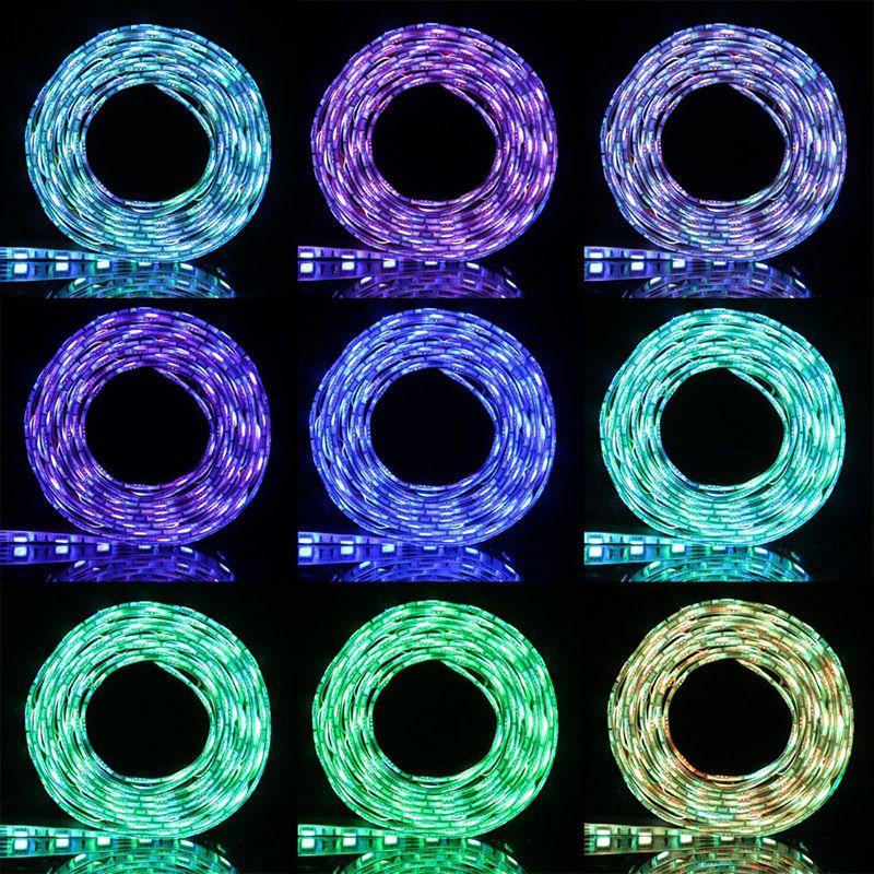 5V USB Cable LED stripe light lamp SMD 5050 Christmas led Flexible Strip Light TV Background Lighting