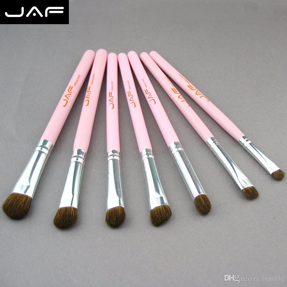 JAF Pincel maquillaje profesional Makeup Brushes Horse Hair Eyeshadow Cosmetic Foundation Makeup Brushes Set J07001