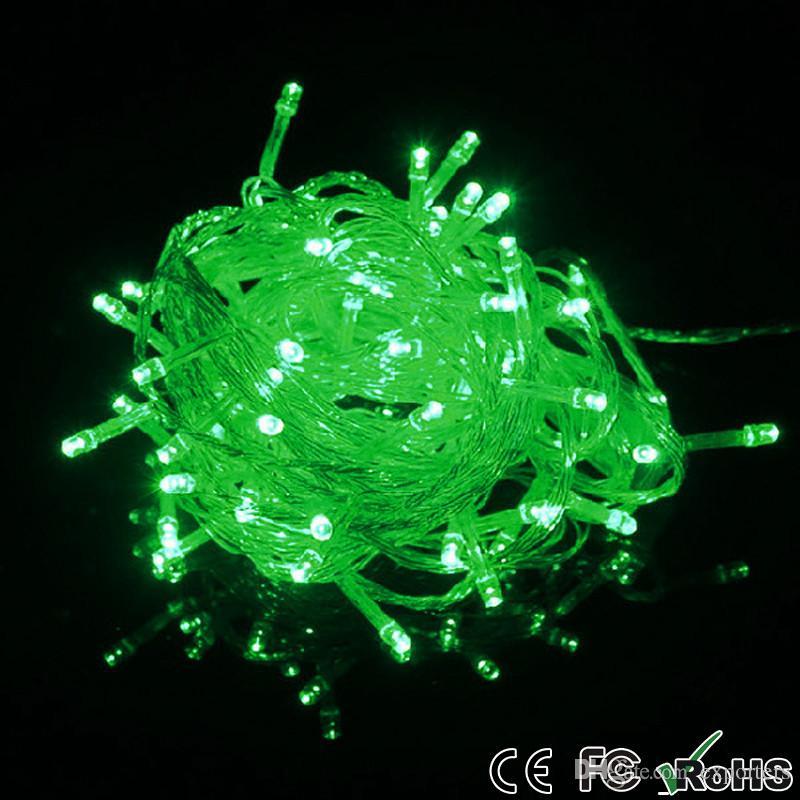 Promotion LED Strips 10M string Decoration Light 110V 220V For Party Wedding led twinkle lighting Christmas decoration lights string
