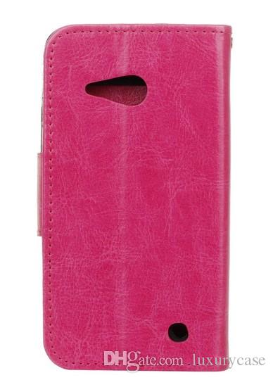 Fashion For Nokia Lumia 550 N550 Case Cover Wallet Flip Slim Cute Mobile Phone Leather Case For Nokia Lumia N550 550