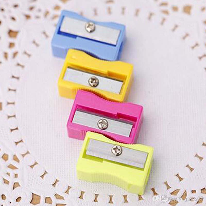 Pencil Sharpener Stationary Office School Supplies Single Holes Pencil Cutter For Students Writing Painting