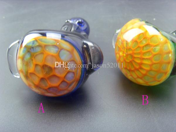Factory price Wholesale colorful Mini Glass Pipes Glass Tobacco Pipes Glass smoking Pipes Hand Pipes hammer Pipes