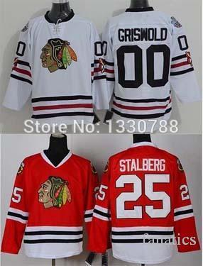 240f383ce9f 2017 2016 Authentic Chicago Blackhawks Jerseys White 2015 Stadium Series 00  Clark Griswold Jersey 25 Viktor ...
