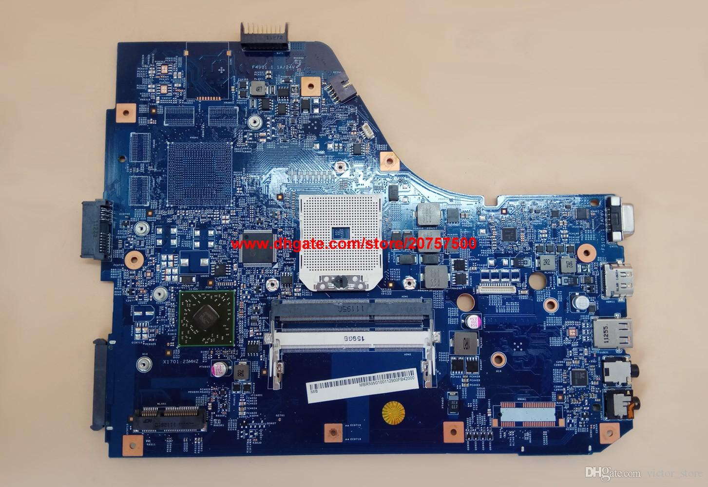 Original & High Quality for Acer Aspire 5560 48.4M702.011 MB.RNW01.001 MBRNW01001 Laptop Motherboard Mainboard Tested
