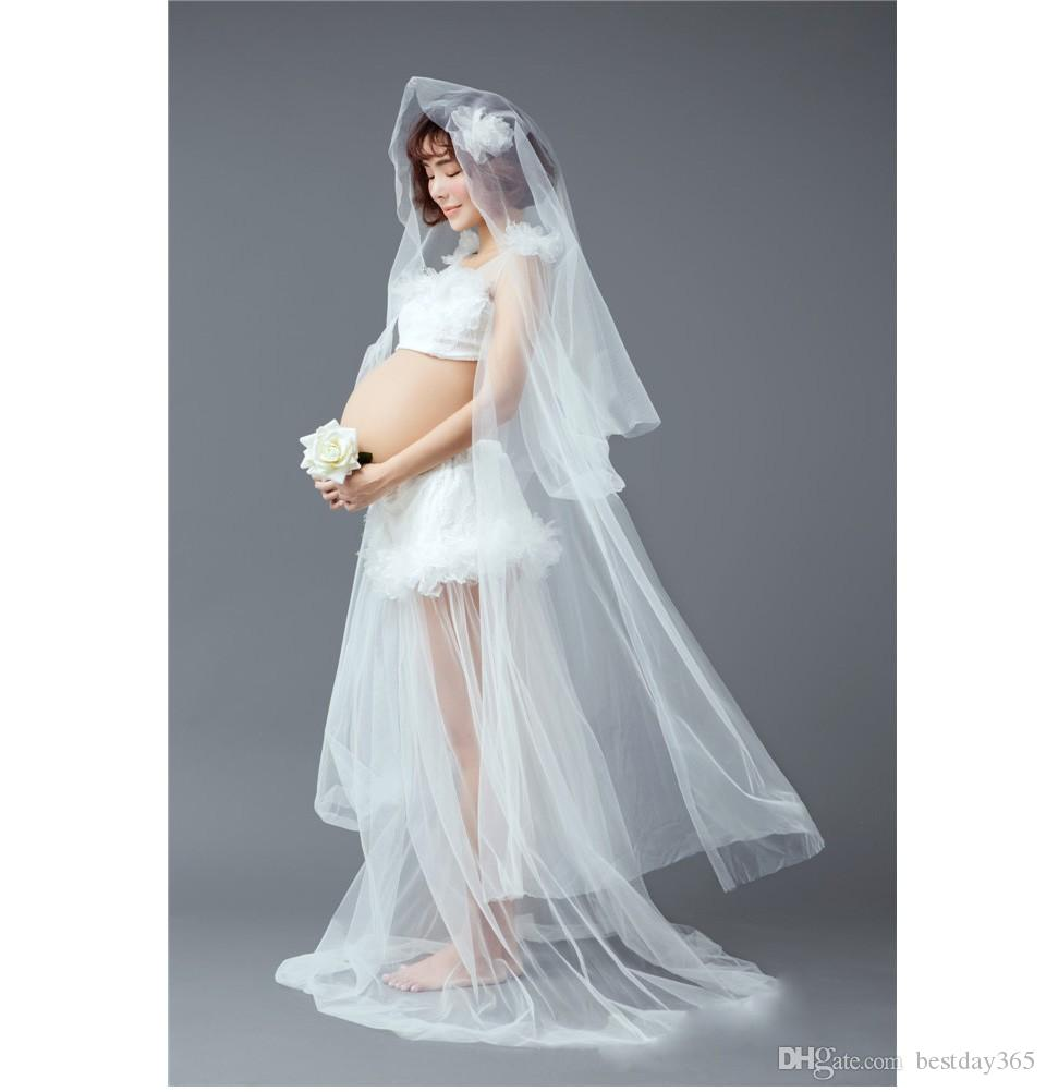 Neue Mutterschaft Fotografie Requisiten Fancy Lange Mutterschaft Kleider Für Schwangere Frauen Kleidung Fotografie Umstandskleid Freie Größe