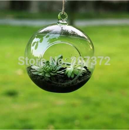groa handel kostenloser versand durchmesser 20cm glas hangende blumen vasen rund mit einem offenen runden boden fur die pflanzung dekoration von mvpdress