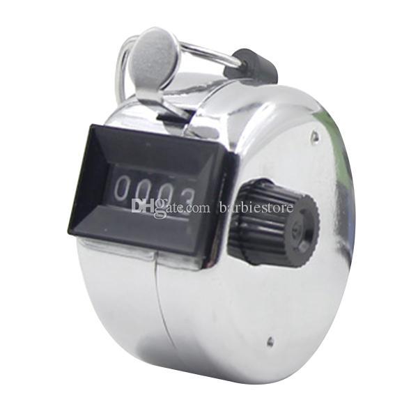 Golf numérique B00214 de nombre de chiffre de Clicker / compteur de main de chrome portatif de Digital