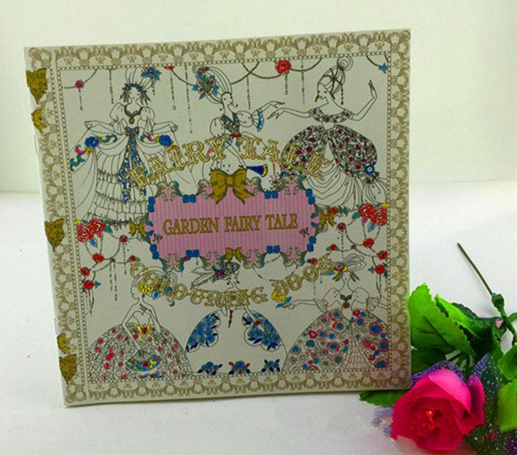 24 Pages Secret Garden Series Adult Coloring Books Fantasy Dream