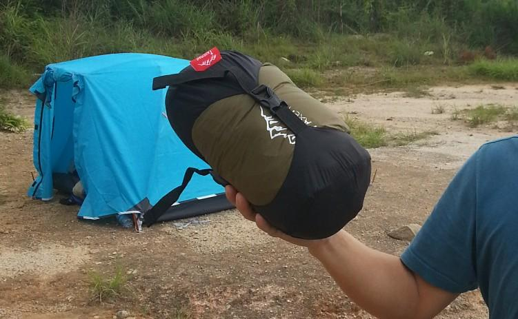 Light Weight Small Sleeping Bag Outdoor Ultralight Envelope Type Gray Goose Down Camping Spring And Autumn 4 Season Bags Woods