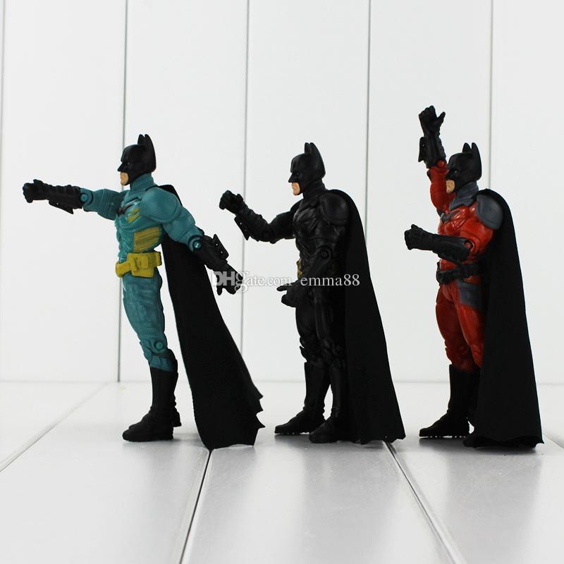 Super Hero Batman 3 Styles 13.5cm PVC Action Figure Toy Collection Model toy retail
