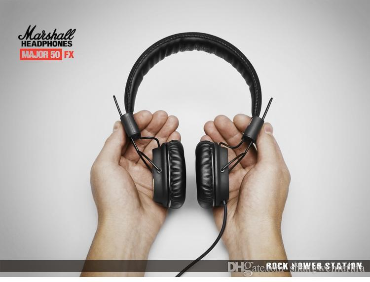 جودة عالية مارشال سماعة الرأس مع هيئة التصنيع العسكري العظمى باس مرحبا فاي سماعة هاي فاي سماعات المهنية DJ مراقب سماعات باس الكمال